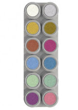 Grimas 12 Colour Pearl Face Painting Palette