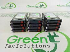 "Lot of 12x HP 432320-001 146GB 10K 2.5"" SFF SAS HDD Hard Drive w/ Tray"
