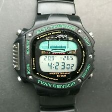 1992 Vintage CASIO ALT-6000 (950) Japan M Alti-Thermo Twin Sensor 47mm watch