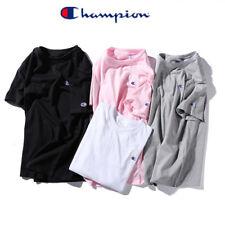 Mens Womens  Sports T-Shirt Vintage Short Sleeves Retro Casual Top Tee