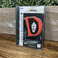 SEGA SATURN D Acclaim COMPLETE TESTED Very Good Condition