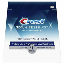 Crest3D Whitestrips Professional Effects Teeth Whitening Strips  - 5 pouches