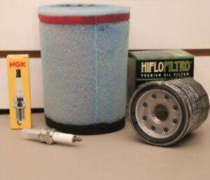 Suzuki Vinson 500 Tune Up Kit NGK Spark Plug Oil Filter Air Filter LTA500 LT500F