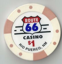 New listing $1 New Mexico Route 66 Casino Chip Rio Puerco Poker