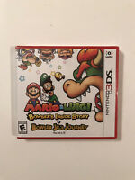 Mario & Luigi Bowsers Inside Story 3DS NEW Sealed Bowser Jrs Journey