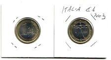 Italia 1 euro Uomo Vitruviano  2003 FDC