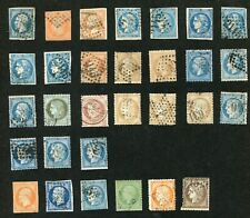 STAMP LOT OF EARLIER FRANCE, UNCHECKED FOR VARIATIONS OR VALUE