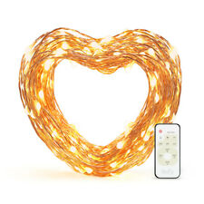 eufy 33ft LED Decor Light Dimmable Starlit String Lights Copper Wire Warm White