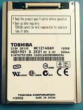 "Toshiba MK1214GAH 120GB 4200 RPM 1.8"" (HDD1901) Hard Drive for Sony SR12E Camera"