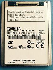 "Toshiba MK1214GAH 120GB 4200 RPM 1.8"" (HDD1901) Hard Drive for Sony SR12E Camera"