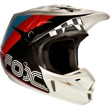 2017 FOX V2 ROHR Black Motocross/ATV Offroad Helmet Size Large
