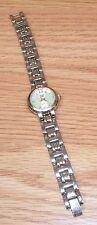 Faded Glory (FG 097 / PC21A) Silver Tone Quartz Analog Women's Wrist Watch READ