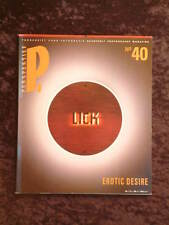 Perspektief #40 Jan 1991 dutch photography mag english & dutch erotic desire