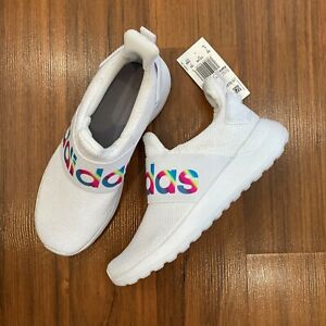 adidas Lite Racer Adapt K SHOES Sneakers Youth Big Girl's Size 13, 1, 3, 4 NEW