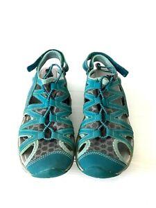 Keen Women's size 8 38.5 Sage Evergled Waterproof Closed Toe Hiking Sandals Shoe