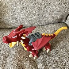 Lego Duplo Large Red Dragon Castle Wings Winged Fire Dinosaur