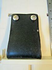 Duty Patrol Belt Leather Swivel Radio Holder Pull The Dot Vg Minor Edgewear