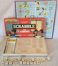 Collectable Vintage Scrabble For Juniors Board Game By Spears Games 1983 Edition
