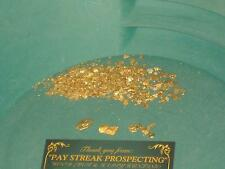 PLACER GOLD CONCENTRATES PAN 5 lbs PAYDIRT / NUGGETS PICKERS FLAKES FINES DREDGE
