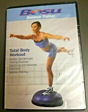 Bosu Total Body Workout Dvd Balance Training & Stretch Focused Fitness Dvd Nip