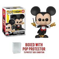 Funko Pop Disney Mickey 90th Anniversary : Conductor Mickey #428 w/Case