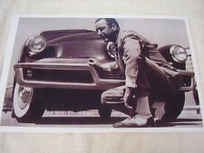 1948 TUCKER  PRESTO TUCKER IN FRONT OF CAR  11 X 17  PHOTO /  PICTURE