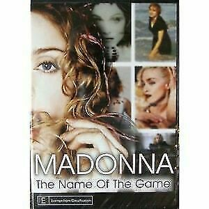 MADONNA  THE NAME OF THE GAME DVD REGION 4 NEW AND SEALED