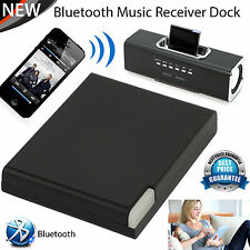 2017 Altoparlante Stereo Bluetooth Audio Musica Ricevitore Adattatore Dock iPhone iPad UK