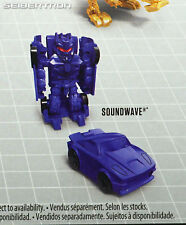 Series 4 SOUNDWAVE Transformers Tiny Turbo Changers Movie Edition 2018 New
