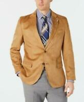 MSRP $295 Nautica Men's Modern-Fit Faux-Suede Sport Coat Size 42 T/L39.5