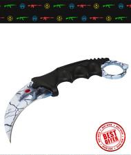 CSGO Karambit Lore Steel knife tactical Counter Strike knive cs go hunting mlg