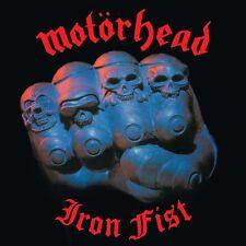 Motorhead-Iron Fist Vinyl LP Cover Lemmy Sticker or Magnet