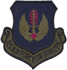 USAF Air Forces In Europe Embroidered Patch ** LAST FEW **