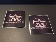 Aston Microphones Factory 2pc Sticker Set