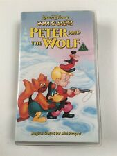 Disney Mini Classics Peter And The Wolf VHS Tape