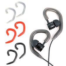 2 Pairs Silicone Ear-Hook Headphone Earhook Sports Earbuds Earphone Accessories