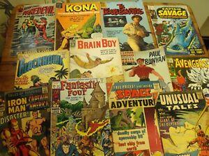 1960's Marvel Superhero Silver Age COMIC LOT + Dell, Sci-Fi, DC, CDC - Readers