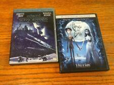 Tim Burtons Corpse Bride (DVD, 2006, Widescreen) and Edward Scissorhands Dvd