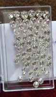 Round Brilliant Cut Loose Synthetic Moissanite Diamond Stones 3.50mm to 10.00mm