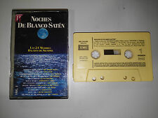 NOCHES DE BLANCO SATEN VOL 1 - CINTA TAPE CASSETTE EMI 1991 SPANISH EDITION