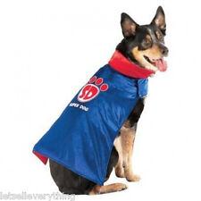 NEW SUPERDOG SUPER HERO SUPERMAN PET DOG HALLOWEEN COSTUME size S