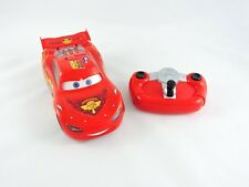 Turbo Lightning McQueen with Infrared Remote Control CARS 2 Disney Thinkway Toys