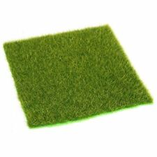 15x15 cm Artificial Turf Grass Lawn For Mini Landscape