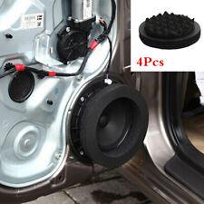 """4X 6.5"""" Black Foam Rings Car Door Speaker Noise Soundproof Enhancer System Kit"""