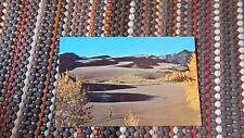 Vintage Postcard - Great Sand Dunes National Monument, Monte Vista, Colorado