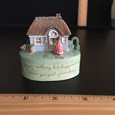 Marjolein Bastin Mini Garden Trinket Box With Be Happy Stamp