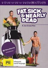FAT, SICK & NEARLY DEAD - Joe CROSS Health Food Longevity Film DVD