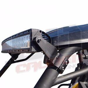 """Yamaha Viking  UTV Clamp to Cage LED 50"""" Brow Mount Light Bar Brackets Set of 2"""