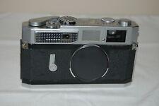 Canon-7 Vintage 1965 Japanese Rangefinder Camera. Serviced. No.885457. UK Sale