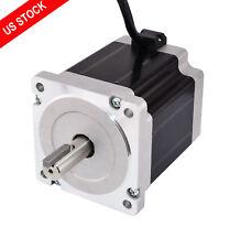 Keyway Dual Shaft Nema 34 Stepper Motor 7.07Nm (1001oz.in) 86x86x98mm 4 Wires